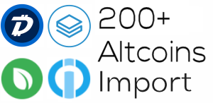 Altcoin Wallet Import